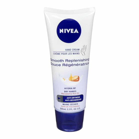 Nivea Smooth Replenishing Hand Cream - 100ml