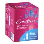 Carefree Body Shape Acti-Fresh Regular Pantiliner - Unscented - 120's