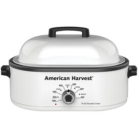 American Harvest Roaster Oven - White - NRO-14