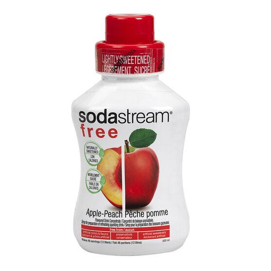 SodaStream Free Syrup - Apple Peach - 500ml