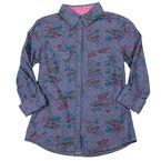 Coupe Ladies Chambray Blouse - Assorted - S-XL