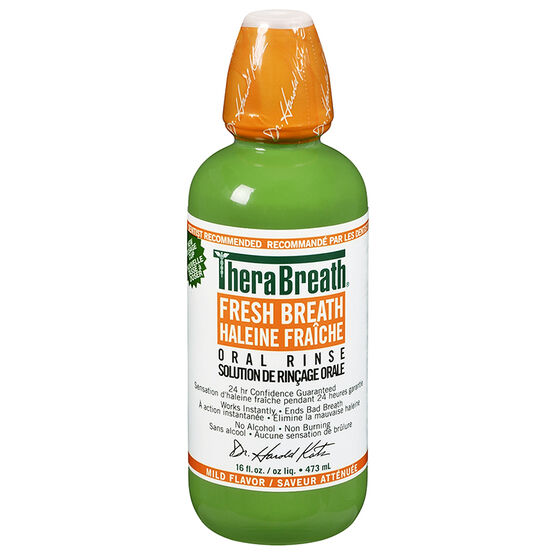 TheraBreath Oral Rinse - 473ml