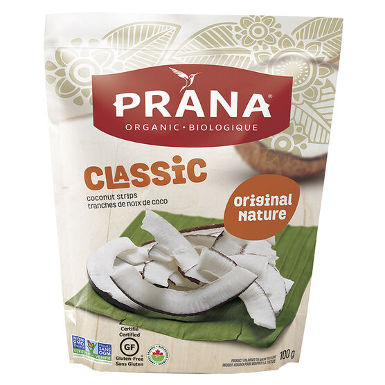 Prana Coconut Strips - Original - 100g