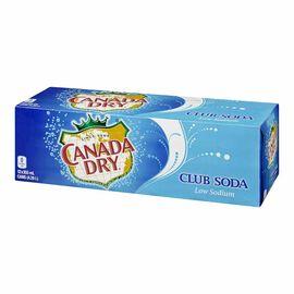Canada Dry Club Soda - Fridge Mate - 12 pack