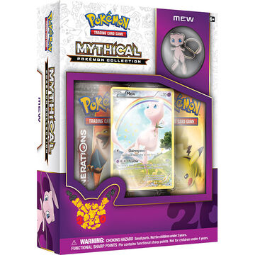 Pokémon Mythical Collection - Mew Box - Assorted