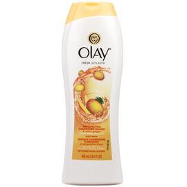 Olay Fresh Outlast Body Wash - Invigorating Champagne Mango - 400ml