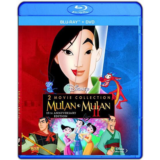 Mulan 2 Movie Collection - Blu-ray + DVD