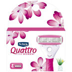Schick Quattro for Women - Cartridges - 4 pack