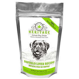 Heritage Artisan Dog Treats - Buffalo Liver - 114g