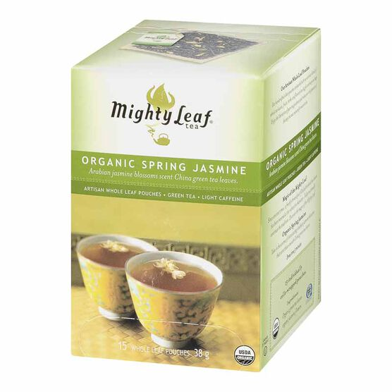 Mighty Leaf Organic Spring Jasmine Green Tea - 15's