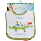 Honey Bunny 7 Days a Week Bibs