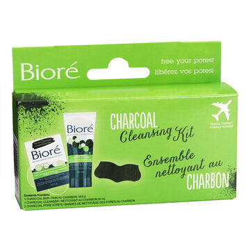 Biore Charcoal Cleansing Kit