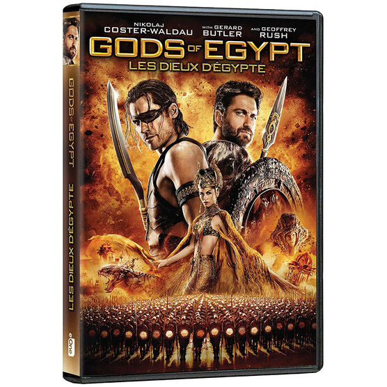 Gods of Egypt - DVD
