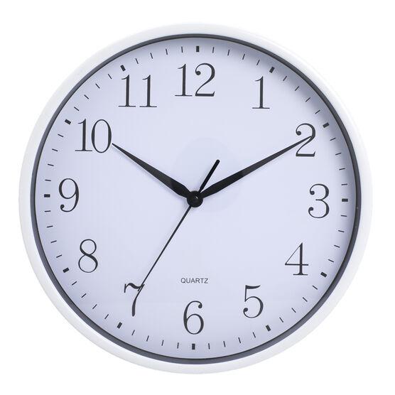 London Drugs Wall Clock - Edwards - White/White