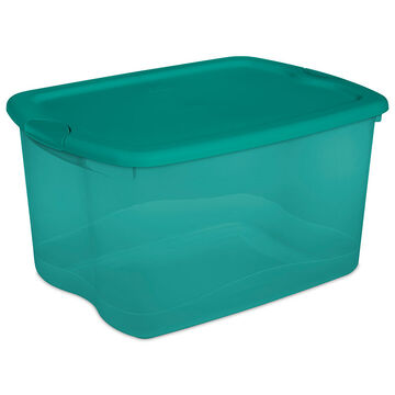 Sterilite Latch Box - Teal - 62.5L