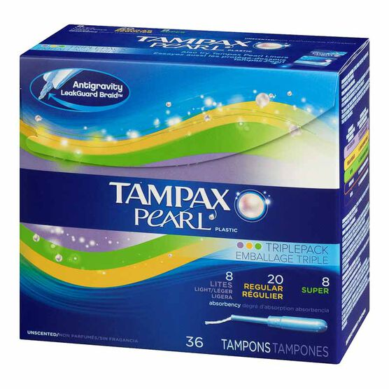 Tampax Pearl - Multipax - 36's