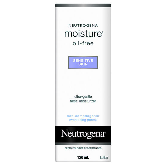 Neutrogena Moisture Oil-Free for Sensitive Skin - 120ml