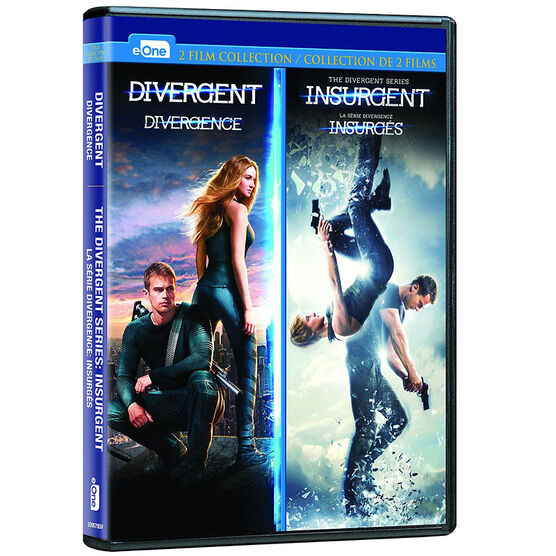 Divergent / Insurgent Double Feature - DVD