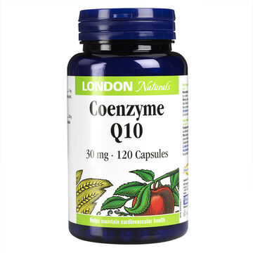 London Naturals Coenzyme Q10 - 30mg - 120's
