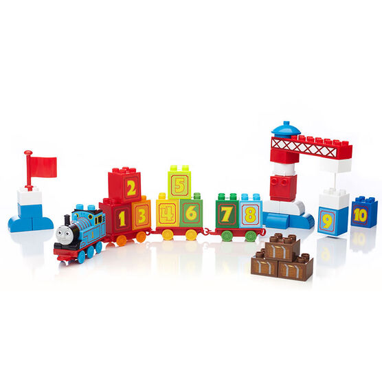 Mega Bloks Junior Builders 1-2-3 Count With Thomas - CYM77