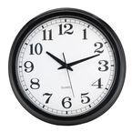 London Drugs Wall Clock - Salt - Black/White