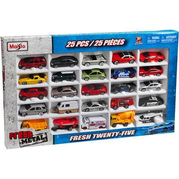 Maisto Fresh Metal Fresh Twenty-Five Car Set