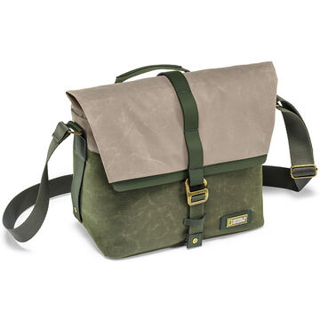 National Geographic Rain Forest Shoulder Bag - Green - NGRF2350