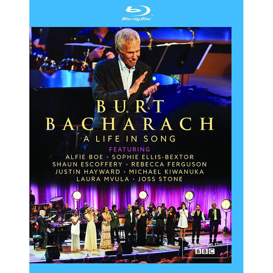Burt Bacharach: A Life In Song - Blu-ray