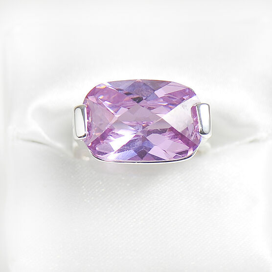 Marca Rose Cubic Zirconia Ring - Size 8