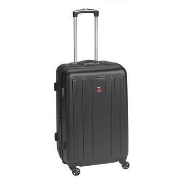 "SwissGear La Sarinne Lite Collection 24"" Hardside Luggage - Black"