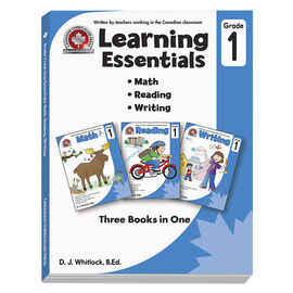 Canadian Curriculum Press Learning Essentials: Grade 1
