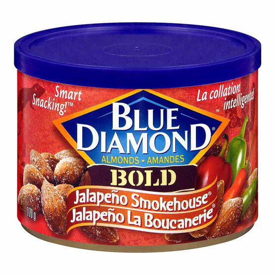 Blue Diamond Almonds - Bold Jalapeno Smokehouse - 170g