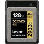 Lexar Professional 2933x XQD 2.0 Card - 128GB - LXQD128GCRBNA2933