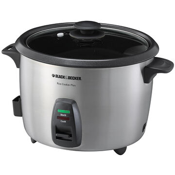 Black & Decker Rice Cooker - Stainless - RC866C