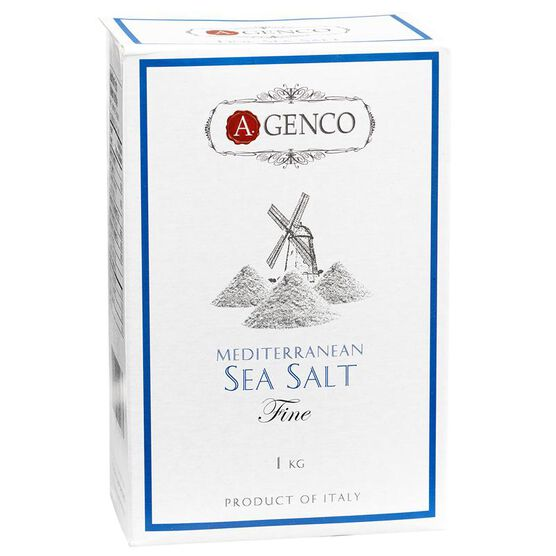 A.Genco Fine Mediterranean Sea Salt - 1kg