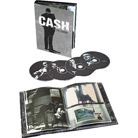 Johnny Cash - The Legend Box Set - 4CD + Book