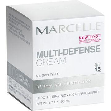 Marcelle Essentials Multi-Defense Cream - SPF 15 - 50ml