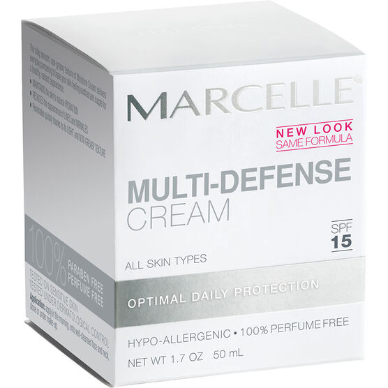 Marcelle Essentials Multi-Defense Cream - SPF 15 - 50ml