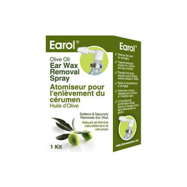 PharmaSystems Earol Ear Wax Removal Olive Oil Spray - 10ml
