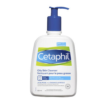 Cetaphil Oily Skin Cleanser - Sensitive Skin - 500ml
