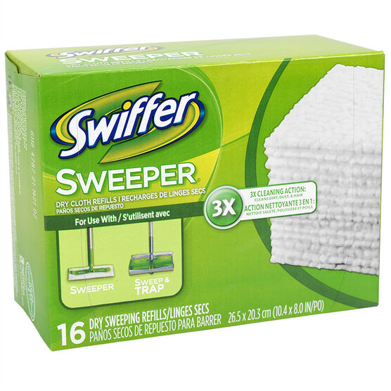 Swiffer Cloths Refill - 16's