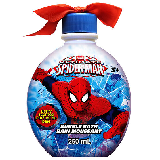 Spiderman Bubble Bath Ornament - Berry - 250ml