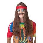 Halloween Hippie Wig