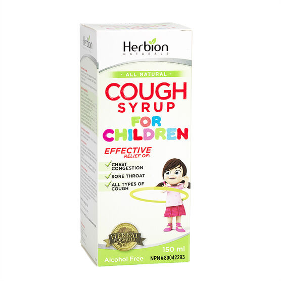 Herbion Cough Syrup for Children - 150ml