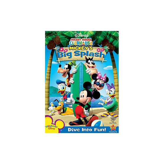 Mickey's Big Splash - DVD