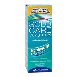 Solo Care Aqua All-In-One Solution - 360ml