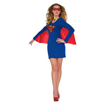 Halloween Supergirl Cape Dress - Small/Medium