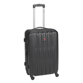 "Swiss Gear Entremont Collection Hardside 24"" Upright Suitcase - Black"