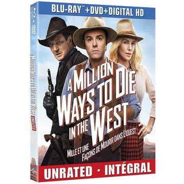 A Million Ways to Die in the West - Blu-ray + DVD + Digital HD