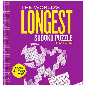 The Worlds Longest Sudoku Puzzle by Frank Longo